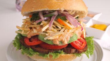 Peruvian-Style Asado Sandwiches
