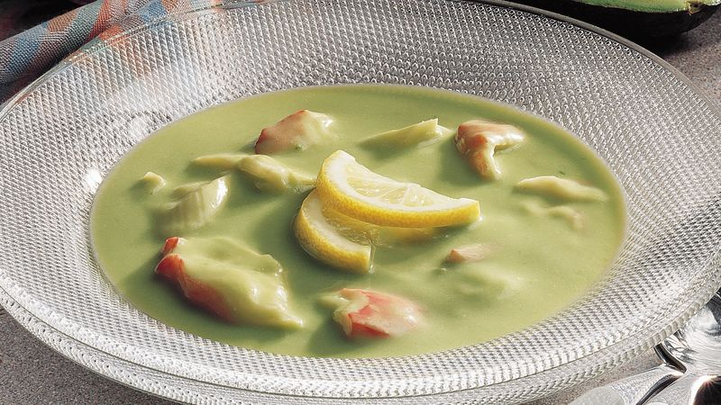 Avocado-Crab Soup