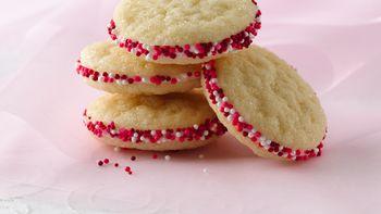 Sweetheart Sandwich Cookies