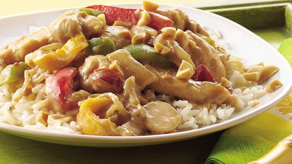 Peanut-Chicken Stir-Fry