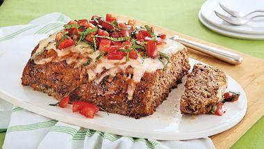 Tomato-Basil Meatloaf