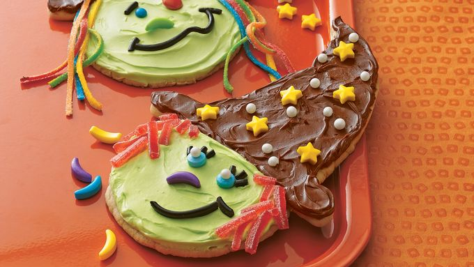 Giant Witch Cookies