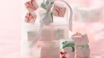 Candy Cane Marshmallows