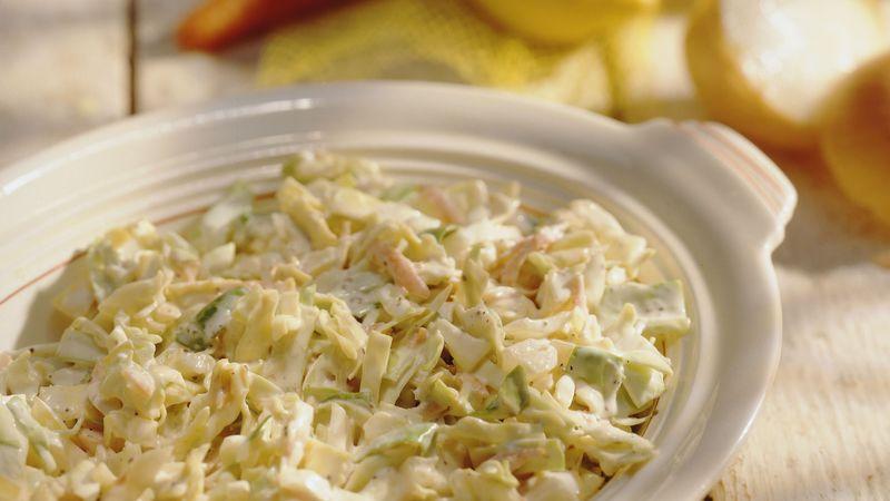 Creamy Coleslaw (lighter recipe)