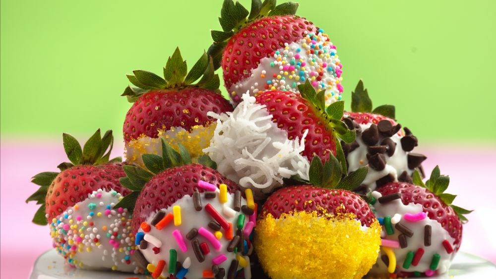 Fancy Dipped Strawberries