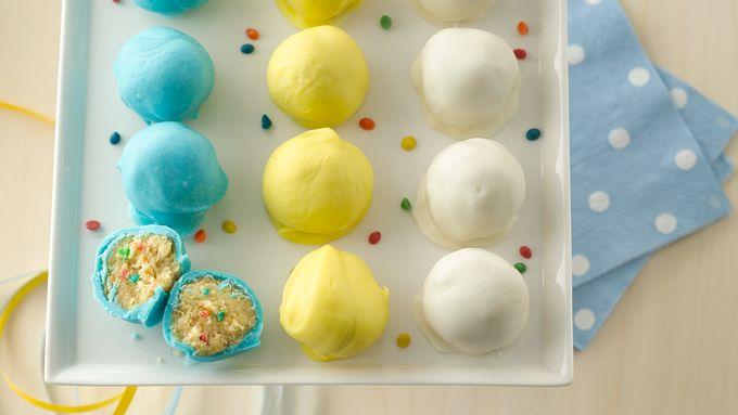 Rainbow Chip Cake Balls