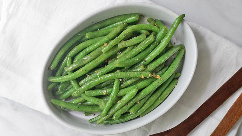 Browned Butter and Garlic Green Beans