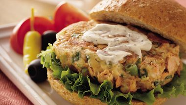 Salmon Patties (Cooking for 2)