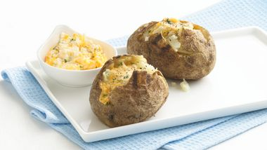 Easy Grilled Baked Potatoes