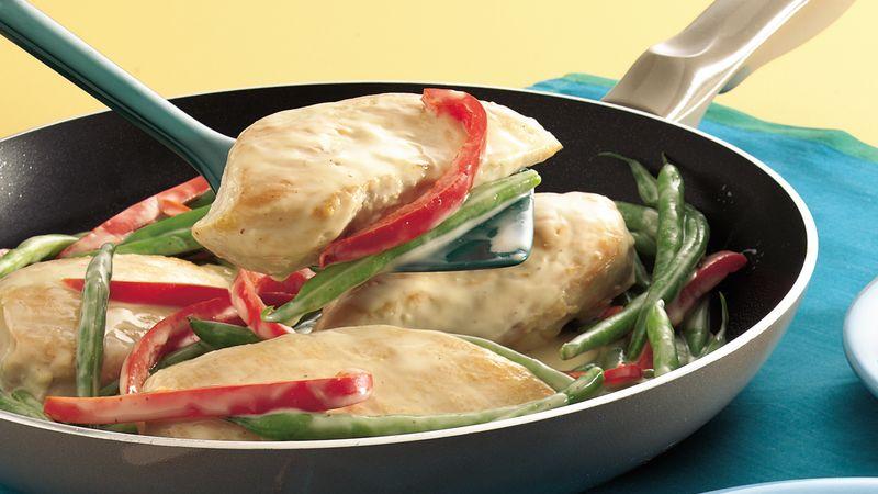 Creamy Chicken Dijon Skillet