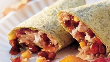 Adobe Chicken Wraps