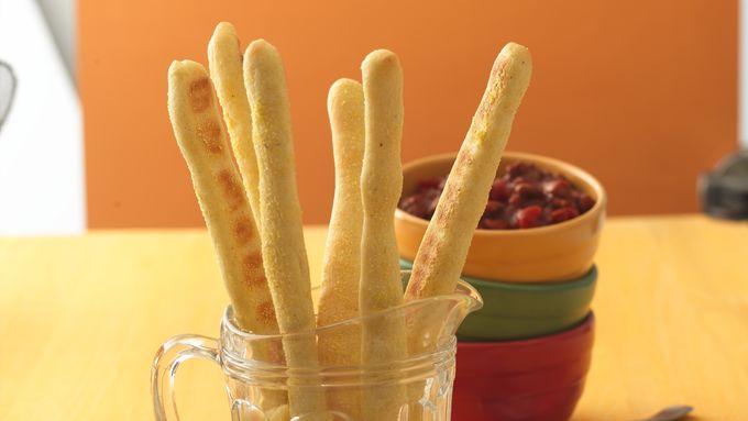 Cornmeal Breadsticks