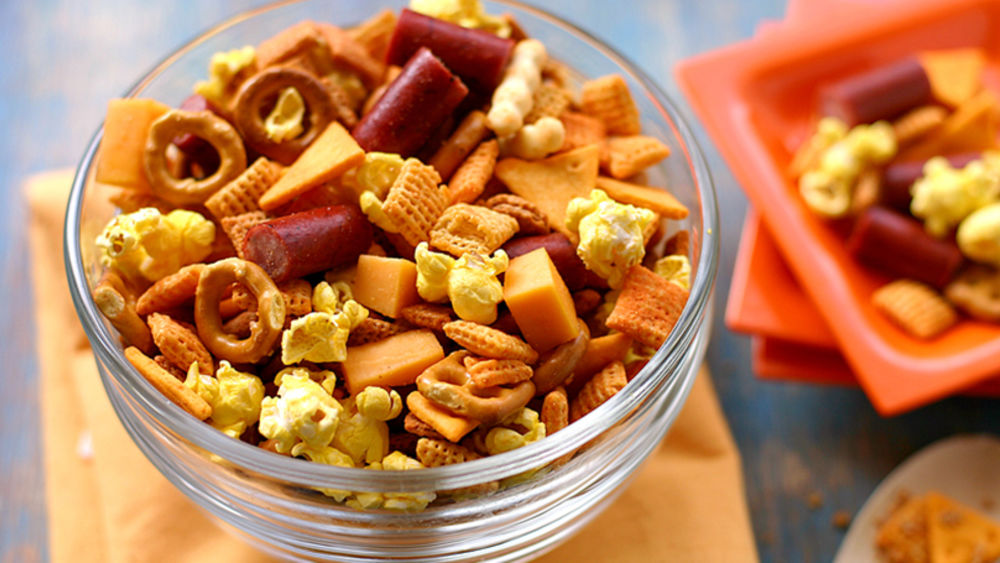 Cheddar Chex Mix® recipe from Pillsbury.com