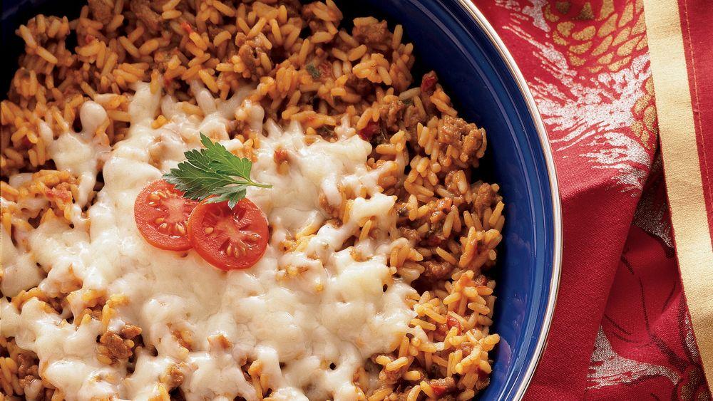 Spanish Rice Skillet Meal