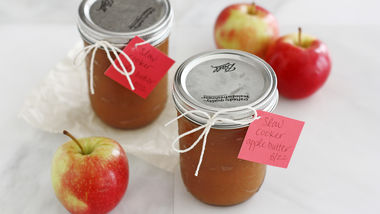 Slow-Cooker Apple Butter