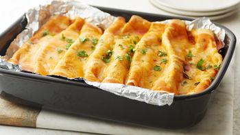 5-Ingredient Chicken Enchilada Casserole