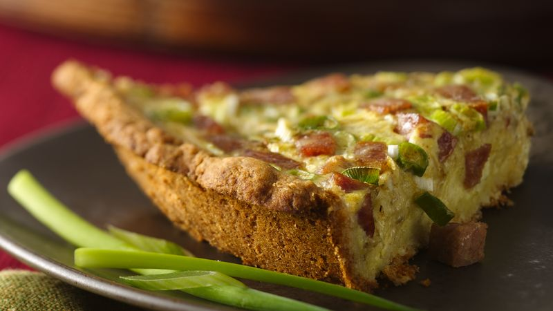 Ragin' Cajun Quiche
