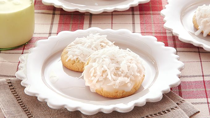 Coconut-Lime Snowball Cookies