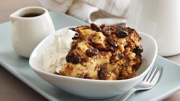 Slow-Cooker Cinnamon-Raisin Bread Pudding