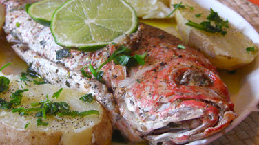 Delicious Red Snapper With Oven Roasted Potatoes