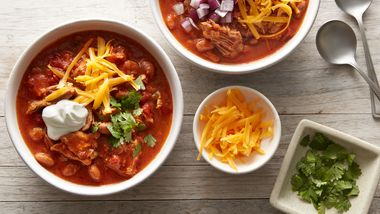 Slow-Cooker Pulled Pork Chili