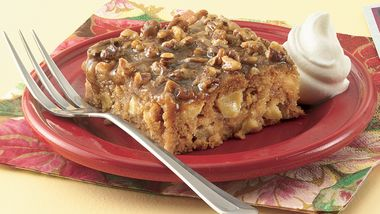 Apple-Pecan Dessert Squares