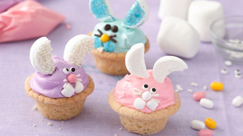 Peek-A-Boo Bunny Cookies