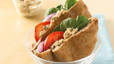 White Bean Hummus Pitas