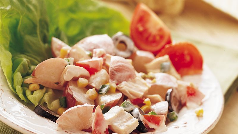 Southwest Chicken Potato Salad