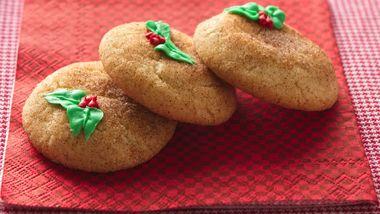 Easy Christmas Snickerdoodles