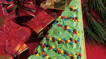 Holiday Brownie Tree