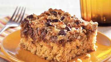 Chocolate Chip Oatmeal Cake