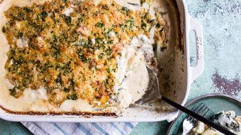 Chicken Parmesan Zucchini Lasagna