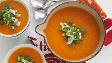 Carrot Soup with Chile Ancho