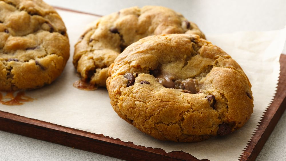Gluten-Free Candy-Filled Chocolate Chip Cookies