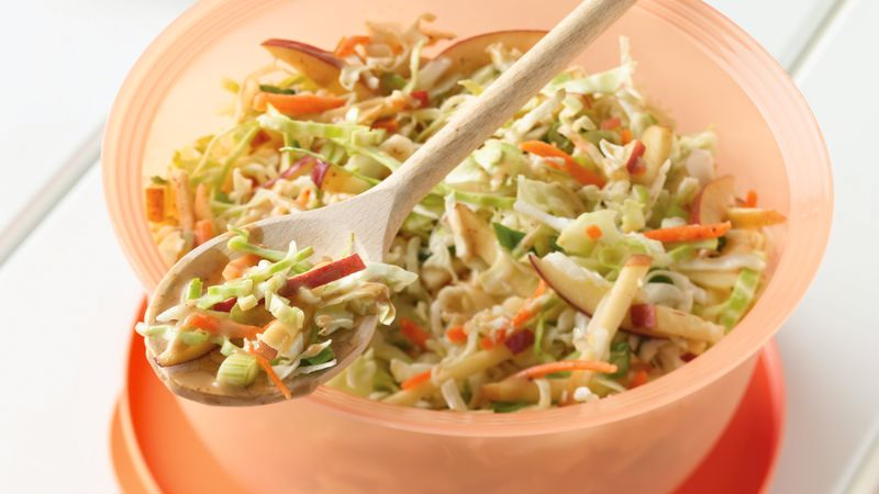 Honey-Mustard Coleslaw with Apples
