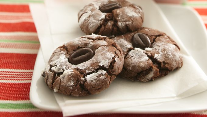 Hazelnut Cappuccino Crinkles