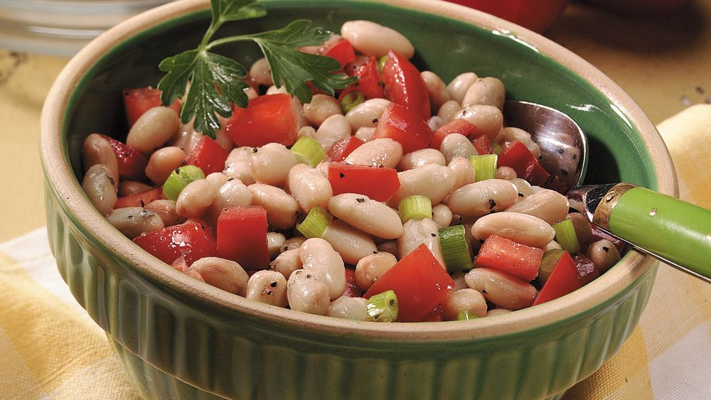 White Bean-Tomato Salad