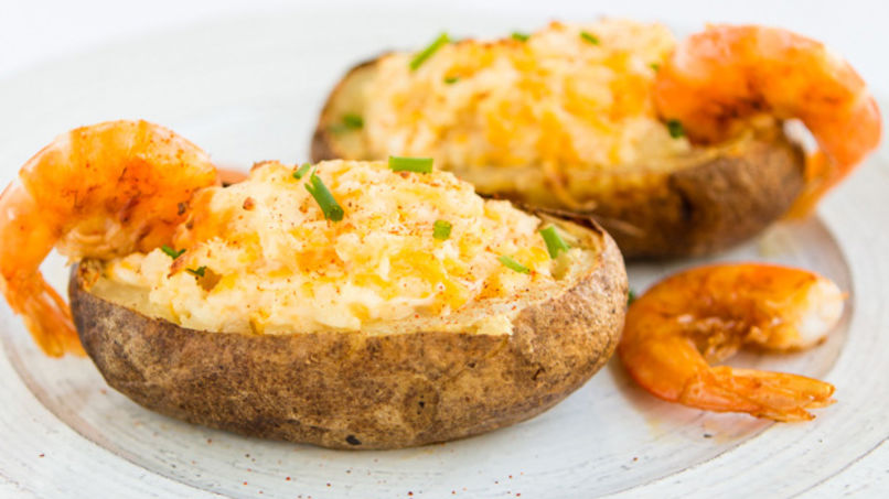Shrimp-Stuffed Potatoes