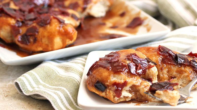 Brown Sugar-Bacon-Biscuit Bake