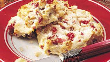 Cranberry-Walnut Biscuits