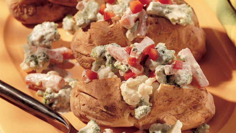Baked Potato Primavera