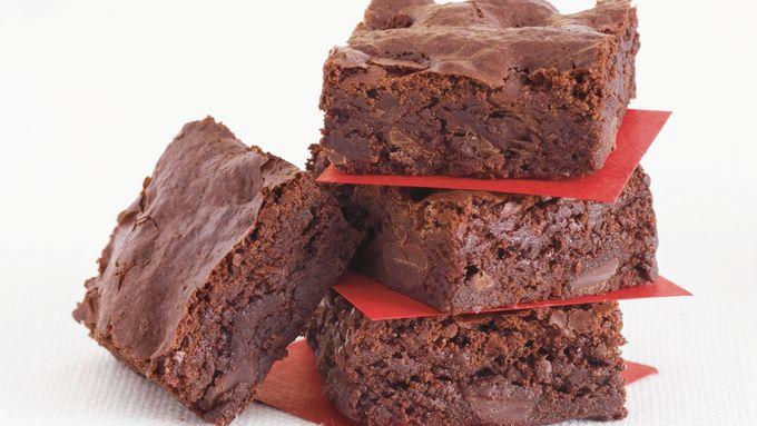Bittersweet-Ginger Brownies