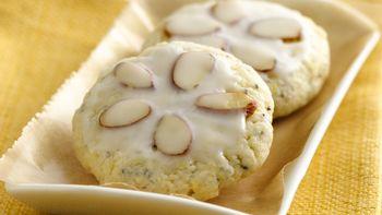 Almond Poppy Tea Cookies