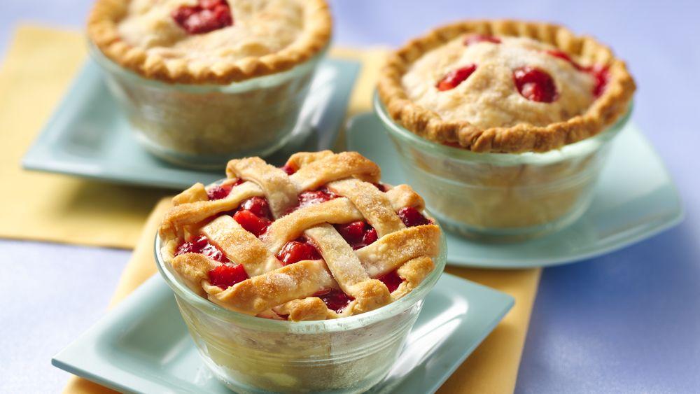 Strawberry-Rhubarb Mini Pies