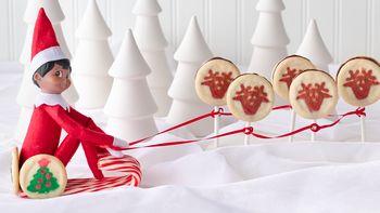 Reindeer Cookie Sleigh