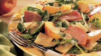 Canadian Bacon and Gouda Salad