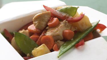 Chicken-Pineapple Stir-Fry