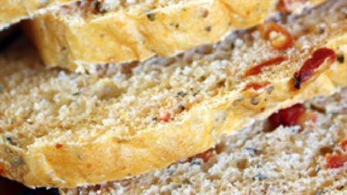 Sundried Tomato Basil Bread