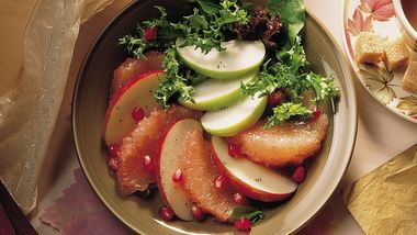 Apple-Grapefruit Salad